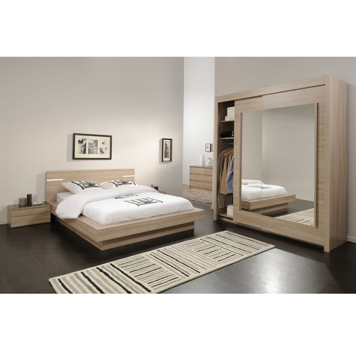 Cdiscount deco chambre visuel 2 for Chambres completes adultes pas cher