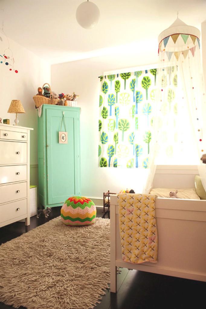 chambre bebe deco vintage