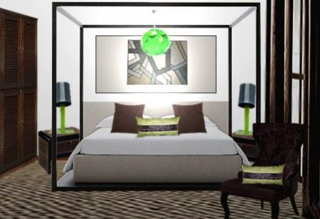 chambre d hotel decoration visuel 4. Black Bedroom Furniture Sets. Home Design Ideas