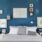 chambre deco bleu