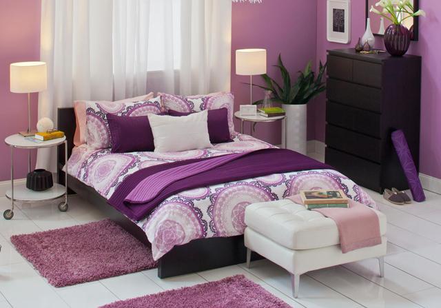 Beautiful Chambre Mauve Et Blanche Ideas - Matkin.info - matkin.info