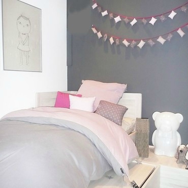 chambre deco pastel visuel 9. Black Bedroom Furniture Sets. Home Design Ideas