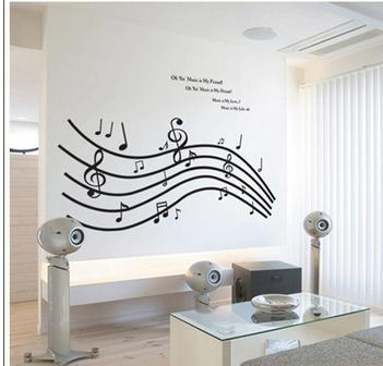 chambre decoration musique. Black Bedroom Furniture Sets. Home Design Ideas