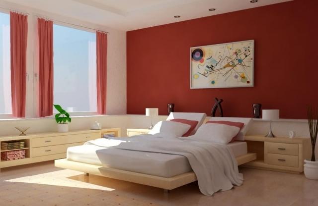 deco chambre a coucher peinture - visuel #6