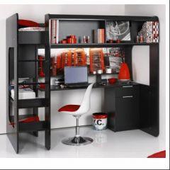 deco chambre ado avec lit mezzanine - visuel #8