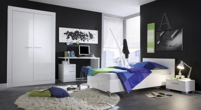 Chambre Garçon Ado Gris : Deco chambre ado garcon gris visuel