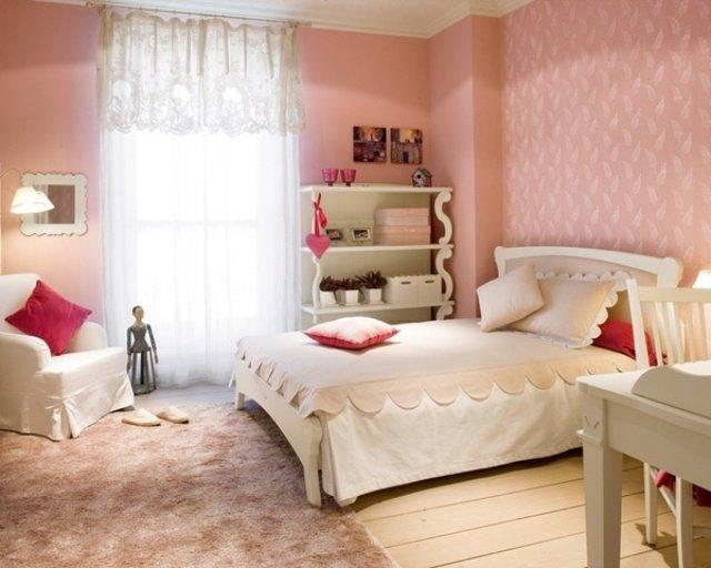 Deco chambre ado tapisserie - Dormitorios de chica ...