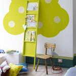 deco chambre ado vert anis