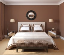 Beautiful Chambre Marron Et Rose Photos - Design Trends 2017 ...