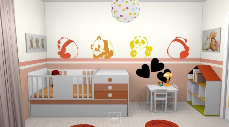 Trendy deco chambre bebe ans u visuel with dco chambre for Amnagement chambre enfant