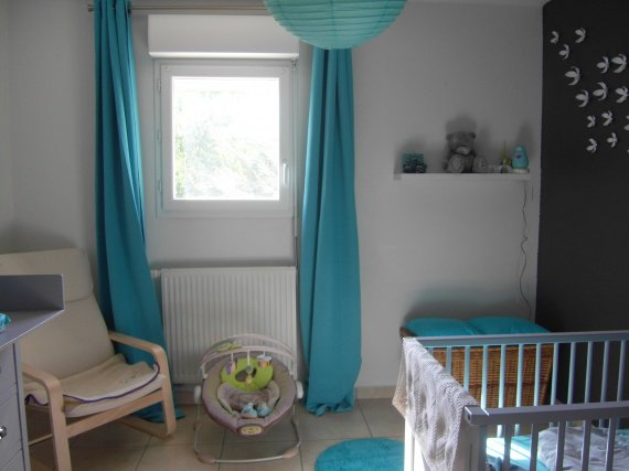 Beautiful Bleu Turquoise Chambre Bebe Contemporary - Design Trends ...