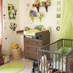 Deco chambre bebe vert anis et rose for Deco chambre vert anis