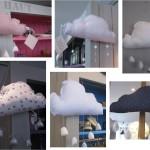 deco chambre fille nuage