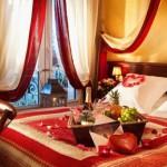 deco chambre pour saint valentin