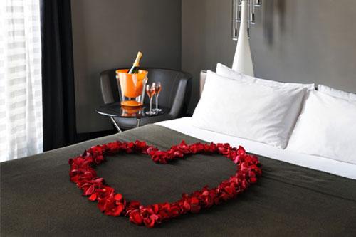 Deco Saint Valentin Ides De Dco De Table Romantique Et Originale - Romantiques idees de decoration de chambre pour saint valentin