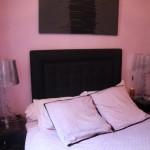 deco chambre rose et noir