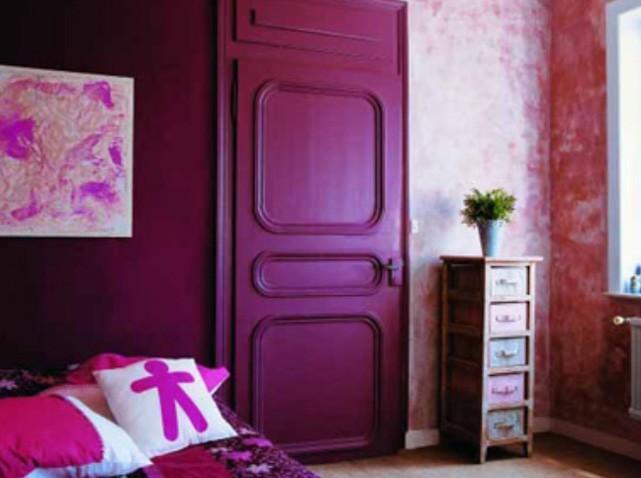 deco chambre rose fushia - visuel #9