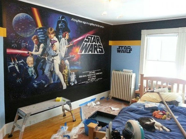 deco chambre star wars visuel 6. Black Bedroom Furniture Sets. Home Design Ideas
