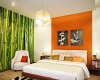 deco chambre zen orange - visuel #8