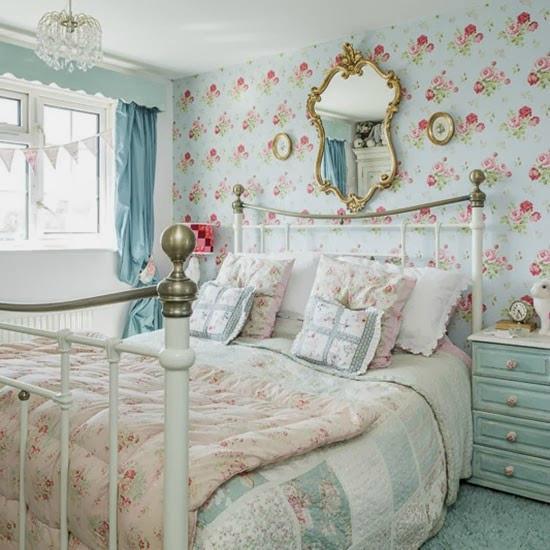 decoration chambre a l anglaise visuel 9. Black Bedroom Furniture Sets. Home Design Ideas