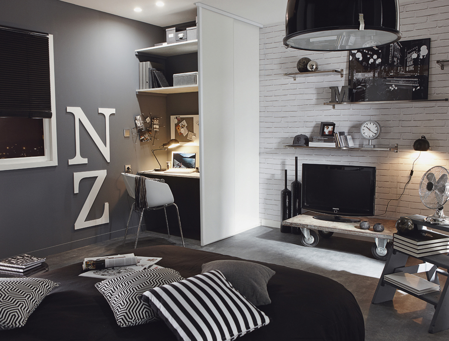 decoration chambre ado 16 ans visuel 2. Black Bedroom Furniture Sets. Home Design Ideas
