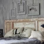 decoration chambre avec tete lit