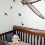 decoration chambre bebe avion