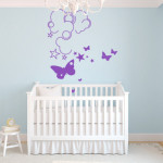 decoration chambre bebe mur