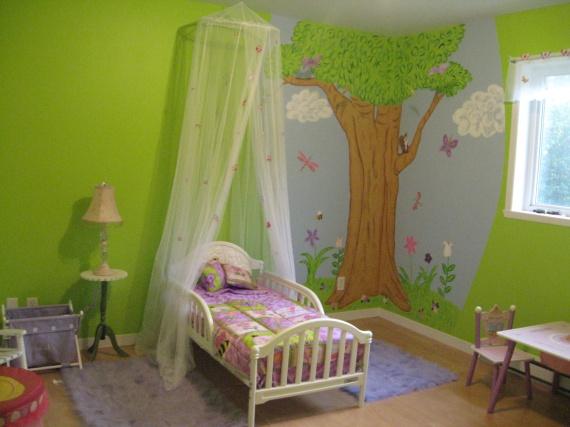 decoration chambre fille 2 ans - visuel #3
