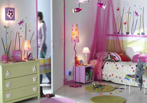 decoration chambre fille 2 ans - visuel #8