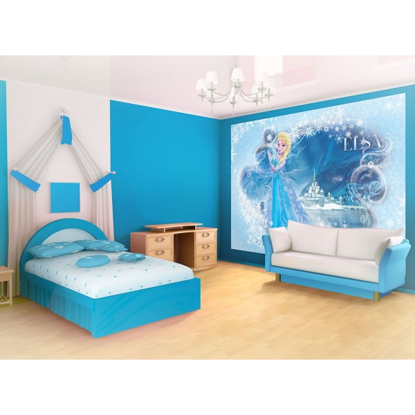 decoration chambre fille reine des neiges visuel 5. Black Bedroom Furniture Sets. Home Design Ideas