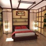 decoration chambre style asiatique