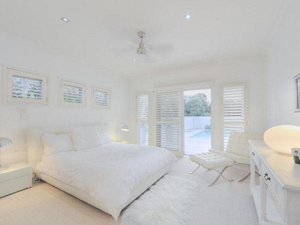 decoration chambre toute blanche - visuel #2