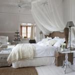 decoration chambre toute blanche