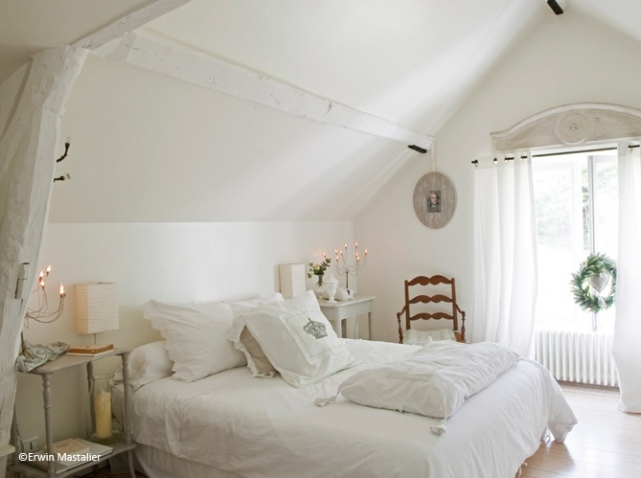 Decoration chambre toute blanche visuel 8 - Chambre toute blanche ...