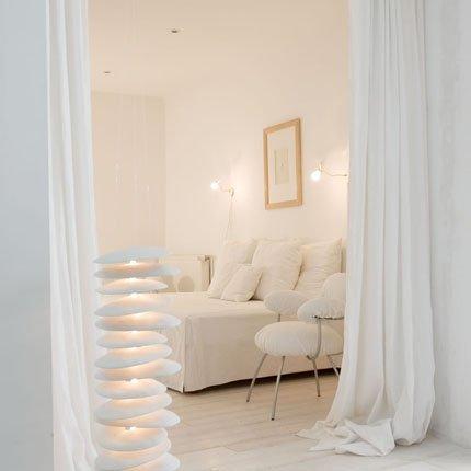 decoration chambre toute blanche - visuel #9