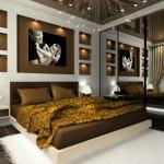 decoration de chambre a coucher contemporaine