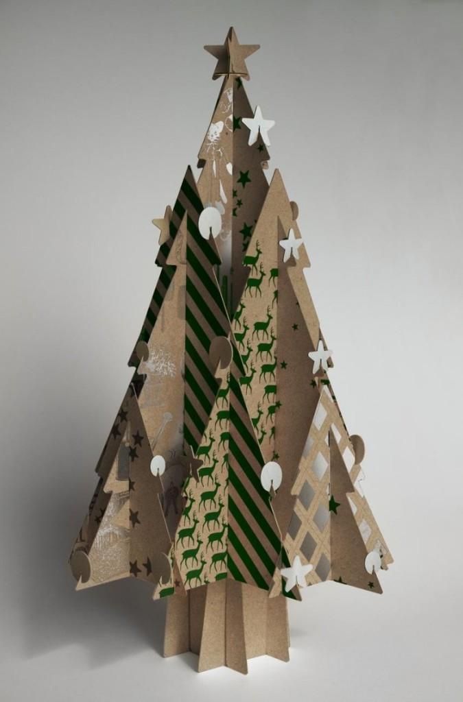 fabriquer deco noel en carton