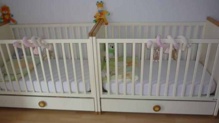 lit bebe jumeaux occasion - visuel #1