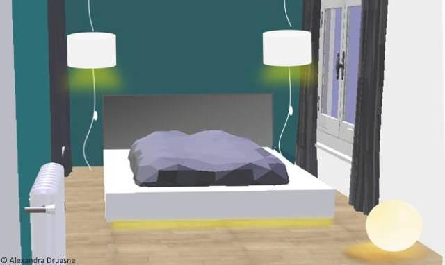 luminaire pour chambre d hotel visuel 1. Black Bedroom Furniture Sets. Home Design Ideas