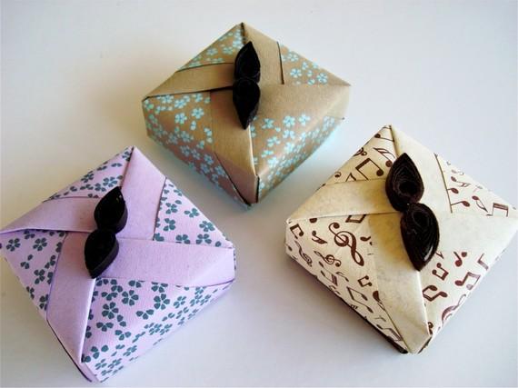boite a bijoux origami visuel 4. Black Bedroom Furniture Sets. Home Design Ideas