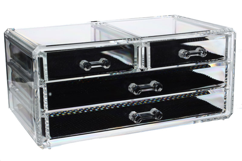 Boite a bijoux sephora visuel 5 - Rangement tiroir acrylique ...