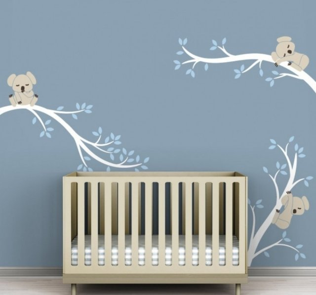 Chambre bebe deco murale for Decoration murale bebe