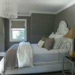 chambre deco gris et blanc
