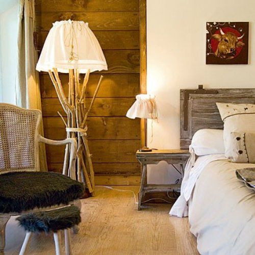chambre deco montagne visuel 4. Black Bedroom Furniture Sets. Home Design Ideas