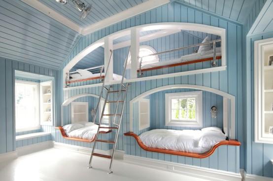 Chambre Deco Style Marin U2013 Visuel #4. «