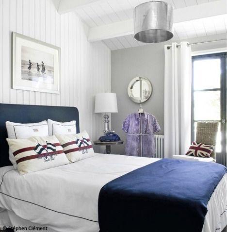 Exceptionnel Chambre Deco Style Marin U2013 Visuel #5. «