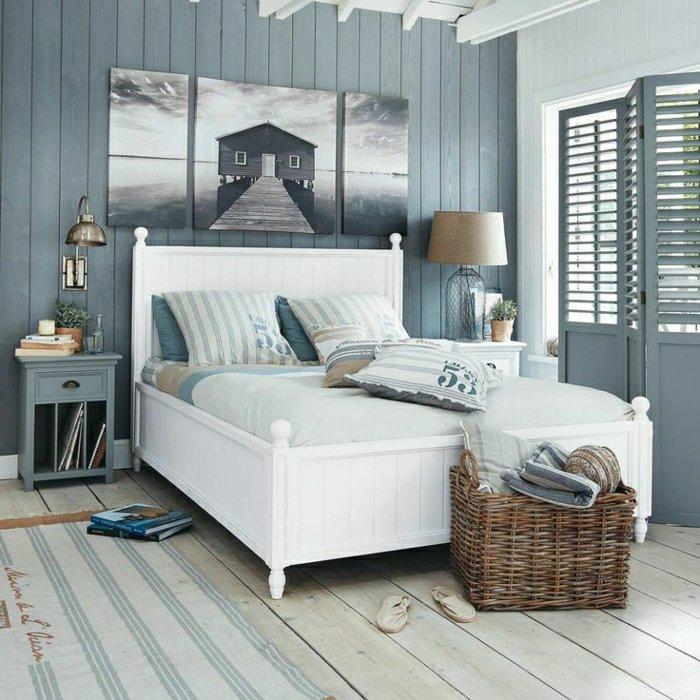Chambre Deco Style Marin U2013 Visuel #1