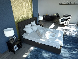 chambre deco tendance 2016 visuel 2. Black Bedroom Furniture Sets. Home Design Ideas