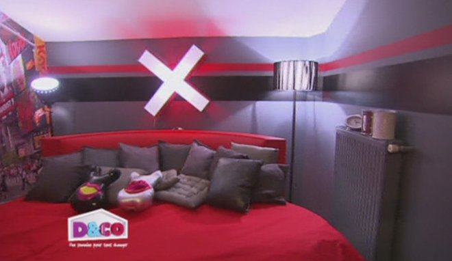 Best Chambre Rouge Et Noir Images - House Design - marcomilone.com